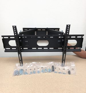 "New $35 Full Motion 32""-65"" TV Wall Mount 180 Degree Swivel Tilt, Max Load 125lbs for Sale in South El Monte, CA"