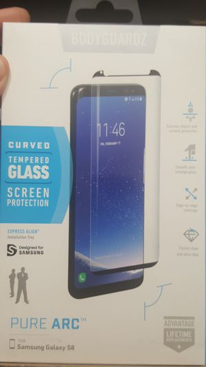 Tempered glass for samsung galaxy s8 new 7firm shiping only for Sale in Phoenix, AZ
