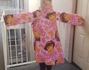 Dora the explorer wear blanket/Snuggie for Sale in Los Angeles, CA