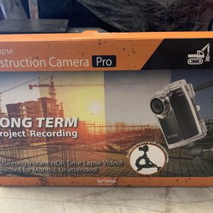 Brinno BCC200 Construction & Outdoor Security Time Lapse Camera for Sale in Los Angeles, CA