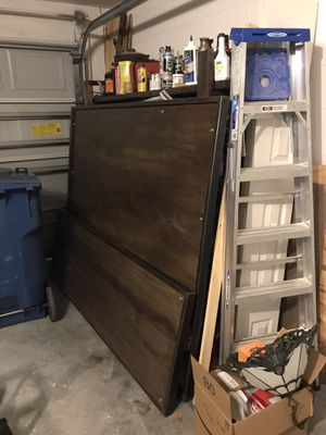Industrial head board, foot board, and lucid mattress for Sale in DeBary, FL