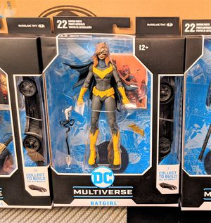 DC Collector Wave 1 Batgirl Art of the Crime 7-Inch Action Figure - McFarlane for Sale in Los Angeles, CA