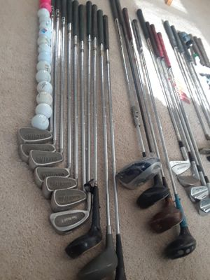 Golfing lot & New golf cleaning kit (((Serious buyers))) Best offer!!! for Sale in Fort Washington, MD
