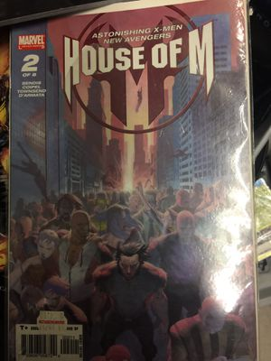 X-men House of M Comic Book 1,2&3 in series. for Sale in Los Angeles, CA