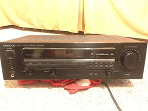 Kenwood Stereo Receiver for Sale in Santa Cruz, CA