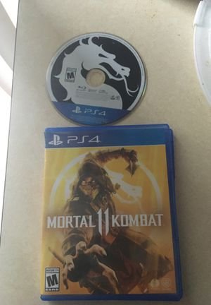 MortalKombat x ps4 for Sale in Salisbury, MD