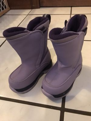Kids purple snow boots for Sale in Pittsburgh, PA