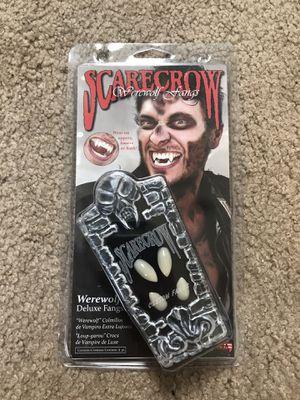 Werewolf / Vampire Fangs - Halloween Costume for Sale in Denver, CO