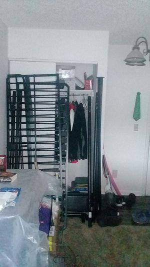 Black futon/ bunkbed for Sale in Nashville, TN