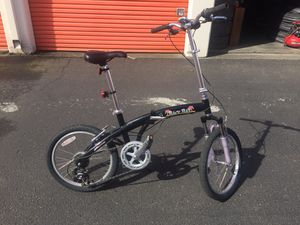 """7 speed 20"""" AMC Back Bay foldable bicycle for Sale in Seattle, WA"""