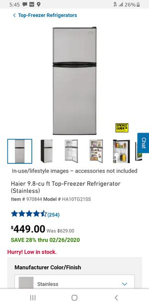 Haier fridge freezer combo new in box for Sale in Lexington, KY