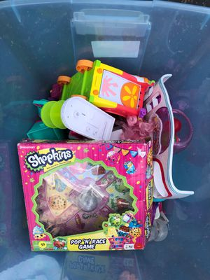 Lot of shopkin accessories shopkins for Sale in Galloway, OH