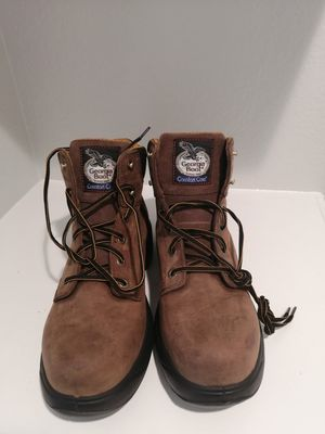Brand new Georgia work boots for men. Size 11.5. Soft toe. for Sale in Riverside, CA