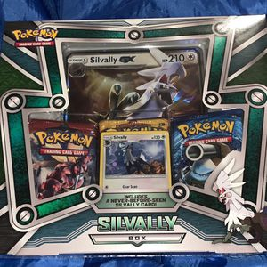 Pokemon Silvally Collection Box | New & Sealed | Inc Booster Packs + Promo Cards for Sale in Renton, WA