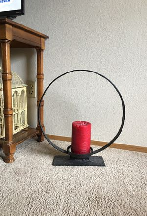 Ring Pillar Candle holder from Pottery Barn for Sale in Covington, WA