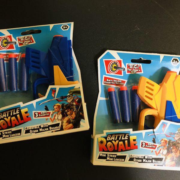 New 2 Battle Royal Mini Dart Nerf Gun