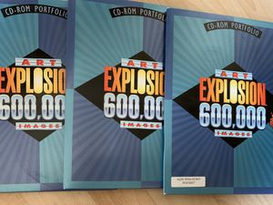 Windows ART EXPLOSION 600,000 Images Clip art by Nova 29 Discs for Sale in Wheeling, IL