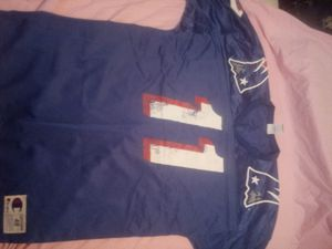 New England Patriots jersey (Drew Bledsoe #11) for Sale in Wichita, KS