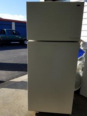 Nice & Clean! Hotpoint Refrigerator /Tan for Sale in Chesapeake, VA
