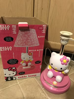 Hello kitty lamp for Sale in Chantilly, VA