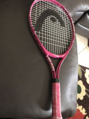 Child's Head pink Barbie tennis racket for Sale in Southwest Ranches, FL