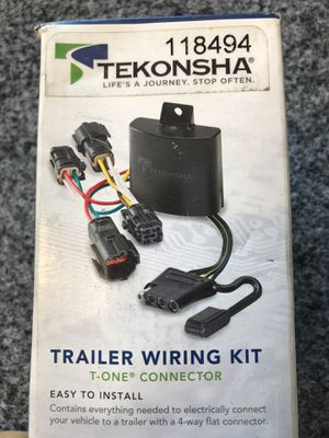 Chevy / GMC (Equinox) Trailer Wiring Kit 10-17 for Sale in Corona, CA
