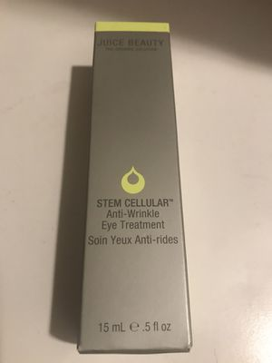 Juice Beauty Stem Cellular Anti Wrinkle Eye Treatment for Sale in Sacramento, CA