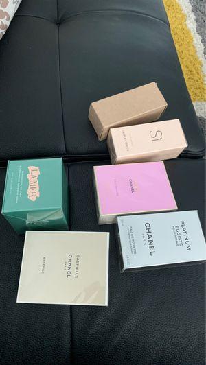 Face cream $280, Brand new perfumes each $110 , Chanel , Gorgio Armani for Sale in Miami, FL
