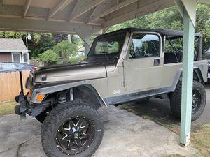 2004 Jeep Wrangle TJ sport for Sale in Milton, WA
