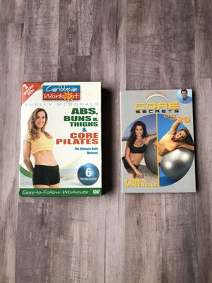 Workout Videos/Core for Sale in Gilbert, AZ
