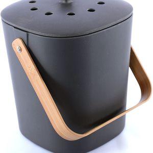 Bamboo Compost Bin (Voted #1, Sold At Anthropologie, West Elm, Crate & Barrel, Goop, World Market) for Sale in Phoenix, AZ