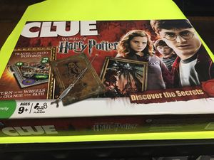 World of Harry Potter clue board game for Sale in Cortez, CO