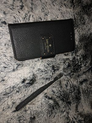 Kate spade ♠️ iPhone 7 or 8 Plus phone wallet for Sale in Buckeye, AZ