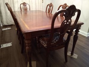Dining Set with 6 chairs for Sale in Edison, NJ