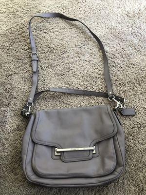Coach gray handbag for Sale in San Ramon, CA