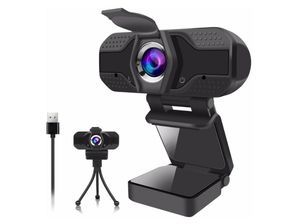 Webcam for PC, 1080P Webcam with Microphone USB Web Camera with Privacy Cover for Desktop/Mac/Laptop/Computer, Streaming Webcams Video Camera for Sale in Rancho Cucamonga, CA