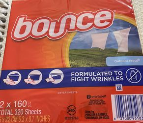 Bounce Dryer Sheets Brand New for Sale in Portland,  OR