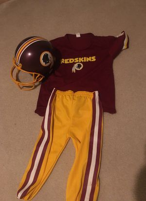 Redskins uniform little boy for Sale in Sterling, VA