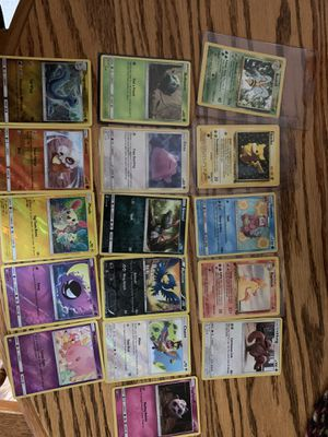 Mint condition Pokémon cards/online codes message for prices for Sale in Edgewood, MD
