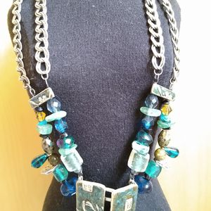 Chico's Statement Necklace with Matching Earrings for Sale in Issaquah, WA