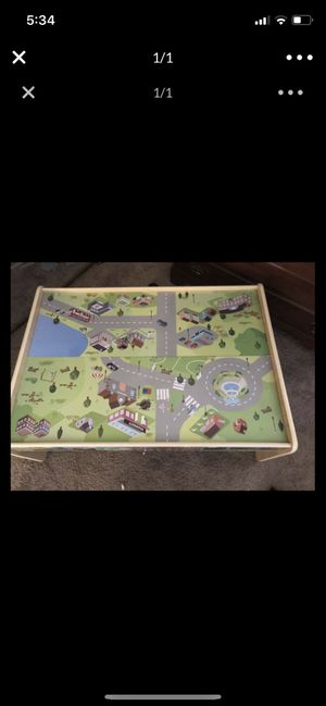 Kids train table for Sale in Morgantown, WV