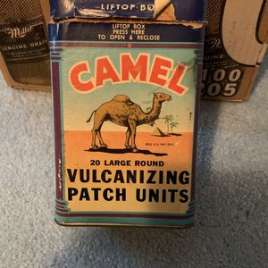 Camel Vulconizing Patch Units No. 12x 1946 for Sale in Fresno, CA