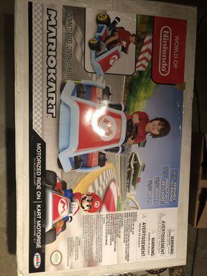 Brand new Mario Kart Motorized for Sale in Moreno Valley, CA