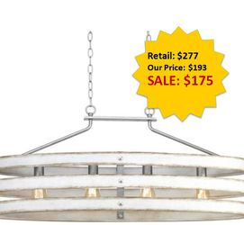 Gulliver Collection Four-Light Linear Chandelier NEW for Sale in Fort Lauderdale,  FL