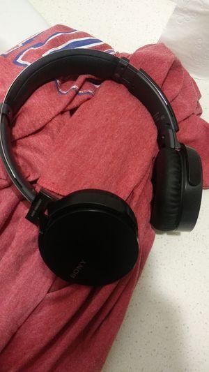 Sony bass boosting headphones for Sale in Visalia, CA
