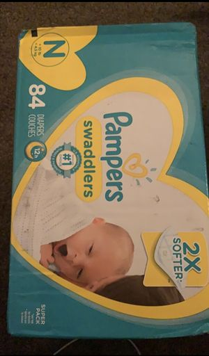 Brand new box of newborn diapers for Sale in Shenandoah, PA