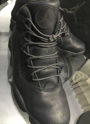 Jordan size 12 six rings winterized sneaker/boot for Sale in New York, NY