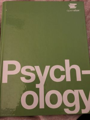 Psychology Textbook for Sale in Severn, MD