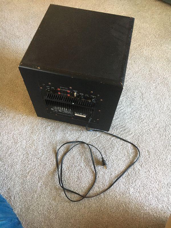 Amazing subwoofer for your tv or soundbar