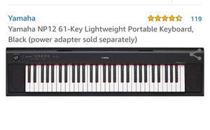 Yamaha 61 key portable keyboard for Sale in Davie, FL